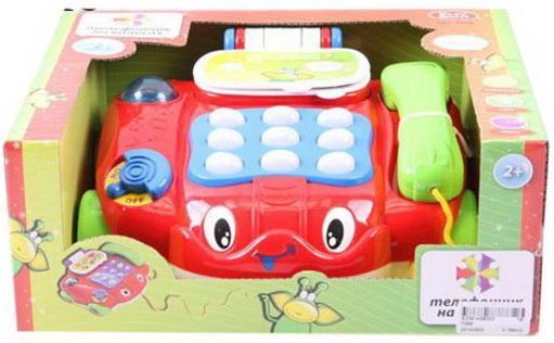 Интерактивная игрушка Наша Игрушка Телефон обучающий от 3 лет игрушка