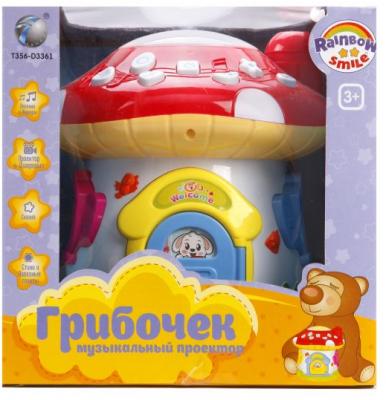 Купить Интерактивная игрушка Наша Игрушка Грибочек от 3 лет, разноцветный, пластик, унисекс, Игрушки со звуком