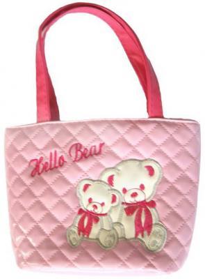 Купить Сумочка Мишки, розовая, 18х20 см, Наша Игрушка, Аксессуары для кукол