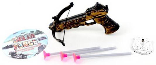 Арбалет, стрелы с присосками 3шт., значок, пакет цена