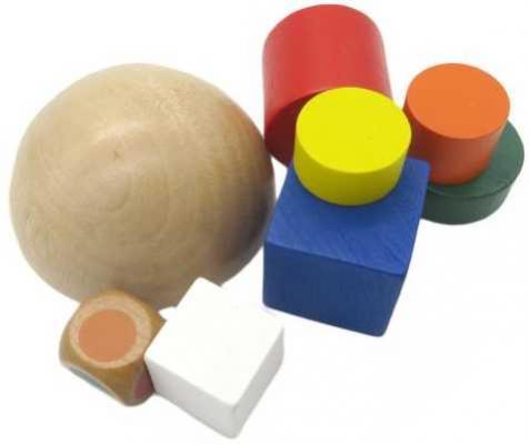 Пирамида-баланс с кубиком, 8 предм., мешочек