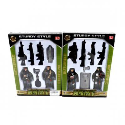Игровой набор Наша Игрушка Военный 7 предметов