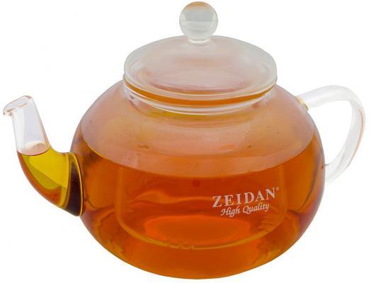 лучшая цена Чайник заварочный Zeidan Z-4177 прозрачный 0.8 л стекло