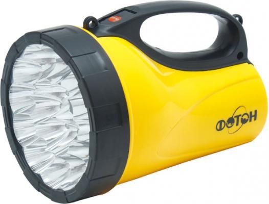 Фонарь ФОТОН РВ-0318 Yellow аккумуляторный светодиодный 18 светодиодов фонарь светодиодный фотон мr 1800 85 м