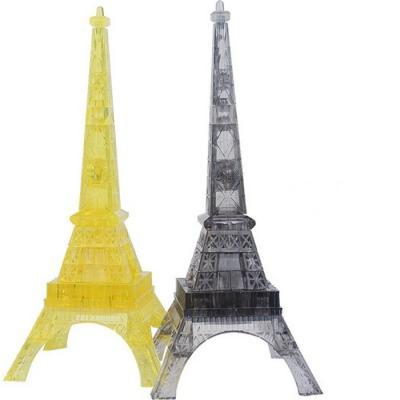 Пазл 3D Эйфелева башня, свет. пазлы cubicfun 3d пазл эйфелева башня