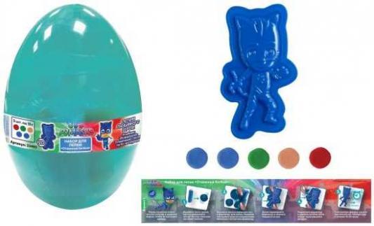 Набор для лепки Отважный Кэтбой,Герои в масках, яйцо набор для лепки росмэн герои в масках 33353