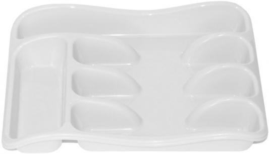 Лоток для столовых приборов Violet 0601/6 белый неактивный лоток для столовых приборов 26 33 5 см белый модель 0601 1