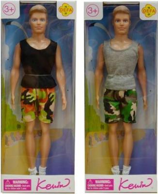 Купить Кукла Defa Kewin Спортсмен 8337, пластик, текстиль, Классические куклы и пупсы