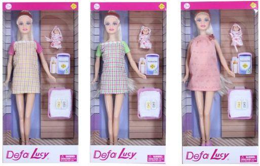Кукла Defa Lucy Мама с малышом, 3 аксесс. , в ассорт. кукла defa lucy мама дочь 8304a