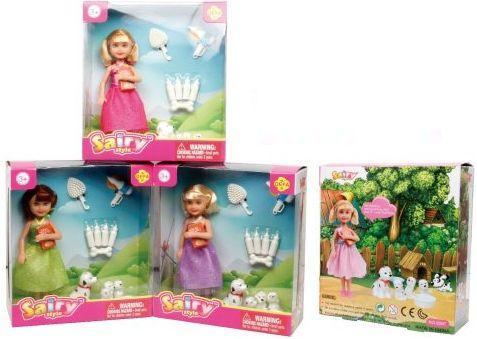 Купить Кукла Defa Sairy Любимые щенки 15 см 8297, пластик, текстиль, Классические куклы и пупсы