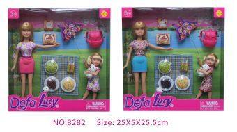Набор кукол Defa Пикник 8282 пикник пикник танец волка