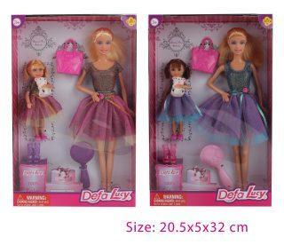 Набор кукол Defa Lucy Идем в гости 8304, пластик, текстиль, Классические куклы и пупсы  - купить со скидкой