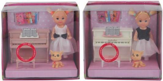 Кукла Defa Lucy 15 см Урок музыки, аксесс.9 предм. кукла defa lucy модная white light blue 8316bl