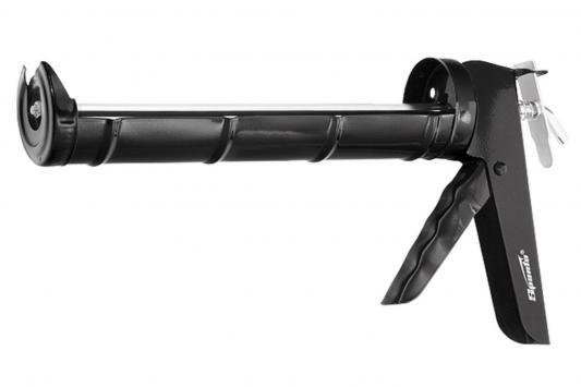 Пистолет для герметика SPARTA 886365 310мл полуоткрытый круглый шток 8мм утолщенные стенки пистолет для гермертика 310мл 1901001