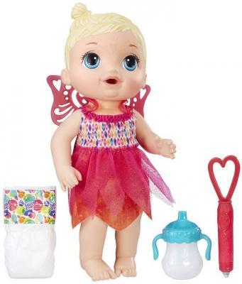 Купить Кукла HASBRO Baby Alive Малышка-фея 30 см пьющая писающая, пластик, текстиль, Классические куклы и пупсы