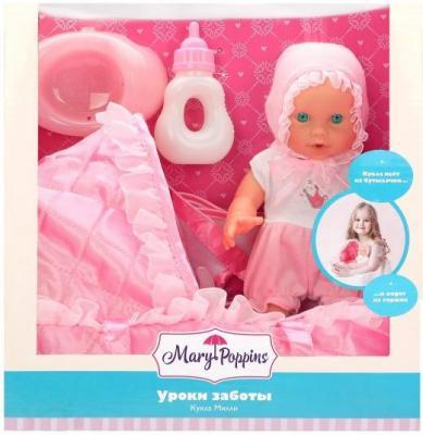 цены на Кукла Mary Poppins Уроки заботы 20 см писающая пьющая 451249  в интернет-магазинах