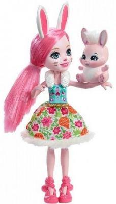Купить Кукла Enchantimals с любимой зверюшкой в асс-те, MATTEL, пластик, текстиль, Куклы Barbie