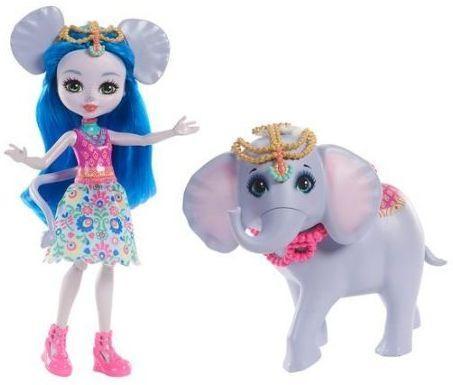 Купить Кукла Enchantimals с большой зверюшкой в асс-те, MATTEL, пластик, текстиль, Куклы Barbie
