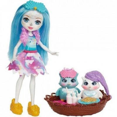 Купить Кукла Enchantimals со зверушкой и тематическим набором в асс-те, MATTEL, пластик, текстиль, Куклы Barbie