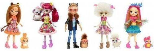 Купить Кукла Enchantimals с питомцем в асс-те, MATTEL, пластик, текстиль, Куклы Barbie