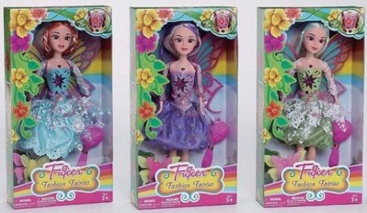 Кукла Zhorya Фея с крылышками 31 см поющая светящаяся в ассортименте кукла zhorya модная вечеринка х75780