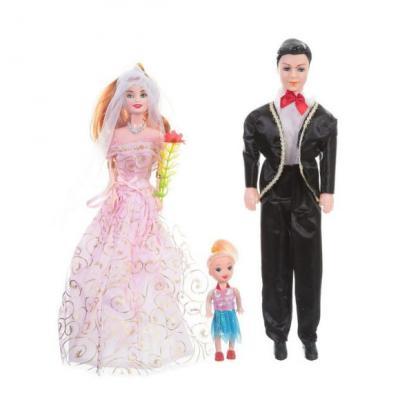 Набор кукол Zhorya Счастливая семья Д34182 а давыдова счастливая семья глазами мужчины и женщины