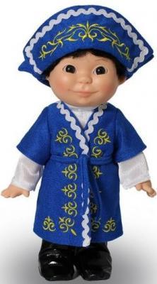 Кукла Весна Веснушка в казахском костюме мальчик
