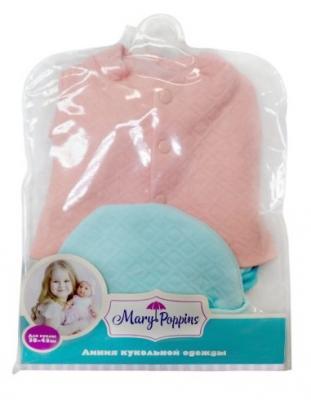Одежда для кукол Mary Poppins Костюм стеганый с шапочкой mary poppins одежда для куклы mary poppins костюм с шапочкой 38 45 см