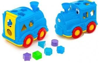 Игрушка Orion toys Паровозик-логика Кукушка