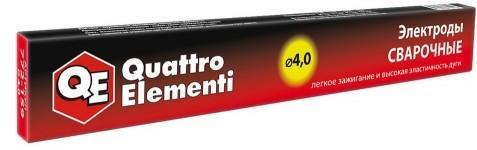 Электроды для сварки Quattro Elementi 772-159 4 мм 0.9 кг аппарат электродной сварки quattro elementi a 160 pico маска хамелеон 242 366