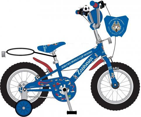 Велосипед Navigator FIFA 12 синий ВН12112 велосипед двухколесный navigator superman 16