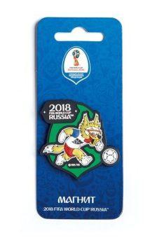 Магнит FIFA 2018 Забивака Вперед! ПВХ СН031