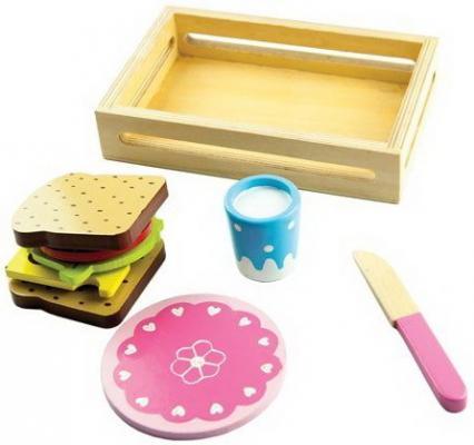 Игровой набор Сэндвич деревянные игрушки mapacha игровой набор mapacha забей шарик