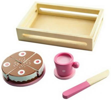 Игровой набор Тортик деревянные игрушки mapacha игровой набор mapacha забей шарик