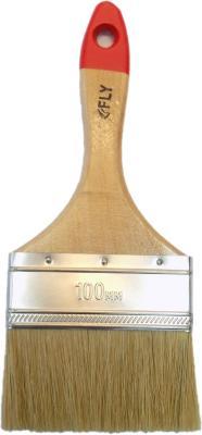 Кисть флейцевая FLY 02-100 Standard натур. щетина 100мм недорого