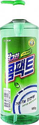 Средство для мытья посуды CJ Lion Chamgreen Концентрат 580 мл бытовая химия lion средство жидкое очарование для мытья посуды лайм 600 мл