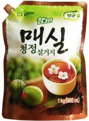 Средство для мытья посуды CJ Lion Chamgreen: Японский абрикос 1кг цена