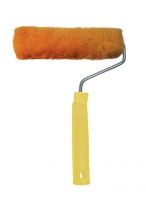 Валик BIBER 67410 Н18 180мм полиэстер с ручкой Арт. ISO9001 32531 валик с ручкой фактурный pqtools ландшафт резина 180мм
