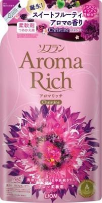 Кондиционер для белья LION Aroma Rich Christine 450мл