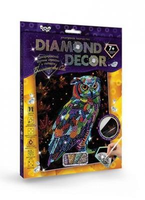 Набор креативного творчества ДАНКО-ТОЙС Сова от 9 лет набор креативного творчества данко тойс diamond mosaic котята от 9 лет dm 01 10
