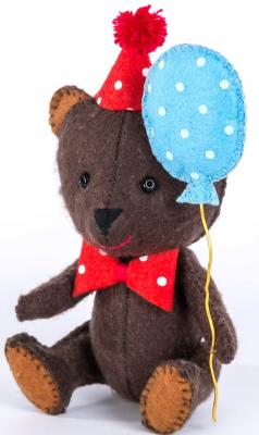 цена на Набор для изготовления игрушек Перловка Happy Мишка