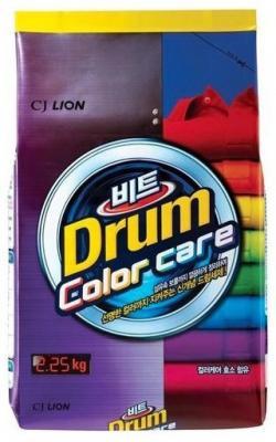 Стиральный порошок для цветного белья CJ Lion Beat Drum Color 2,25 кг стиральный порошок пемос color для цветного белья 2 кг
