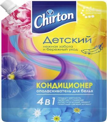 Кондиционер для ополаскивания белья 4 в 1 Chirton Детский 750 мл бытовая химия chirton кондиционер для белья альпийский луг 1 л