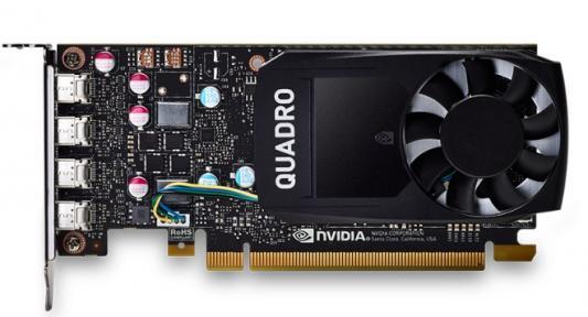 Фото Видеокарта PNY Quadro P620 Quadro P620 DVI PCI-E 2048Mb 128 Bit Retail (VCQP620DVI-PB)