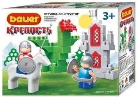 Конструктор Bauer Всадник и дракон 461 конструктор bauer крепость всадник 460