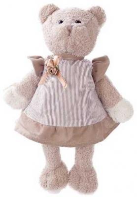 Купить Мишка Машенька 23см в сером., Angel Collection, белый, серый, 23 см, искусственный мех, пластик, Животные