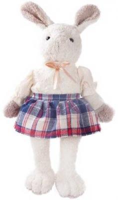Мягкая игрушка заяц Angel Collection Зайка Мэри искусственный мех белый 23 см 681399 серебряные серьги