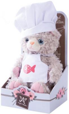 Купить Мягкая игрушка котенок Angel Collection Cat story Поваренок искусственный мех 20 см 681344, разноцветный, Животные
