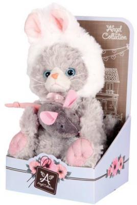 Мягкая игрушка котенок Angel Collection Cat story Зайка искусственный мех 20 см 681343 пальто alix story alix story mp002xw13vuo