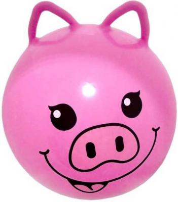 Мяч-попрыгун Moby Kids Хрюша розовый от 3 лет пластик 635194 кухонный набор сима ленд шеф повар хрюша 3505364